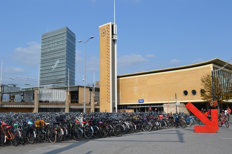 Estación de tren, Eindhoven. © Fotografías SJLL.