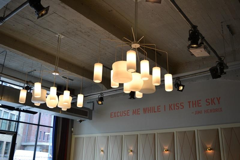 Restaurante Usine, Eindhoven. © Fotografías SJLL.