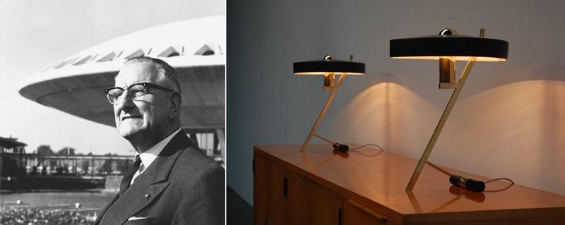 Louis Christiaan Kalff, arquitecto 1966. Lámpara Philips