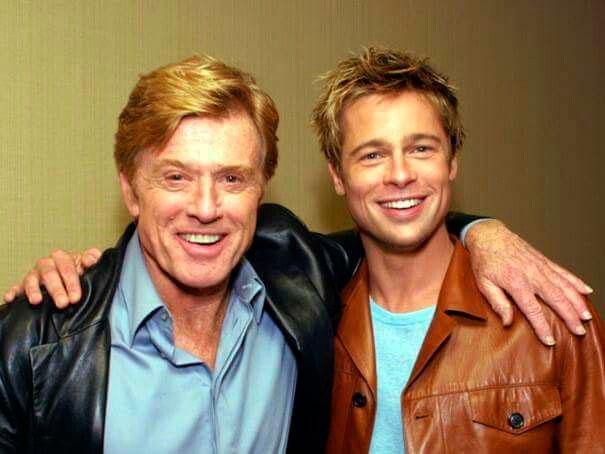 Robert Redford y Brad Pitt