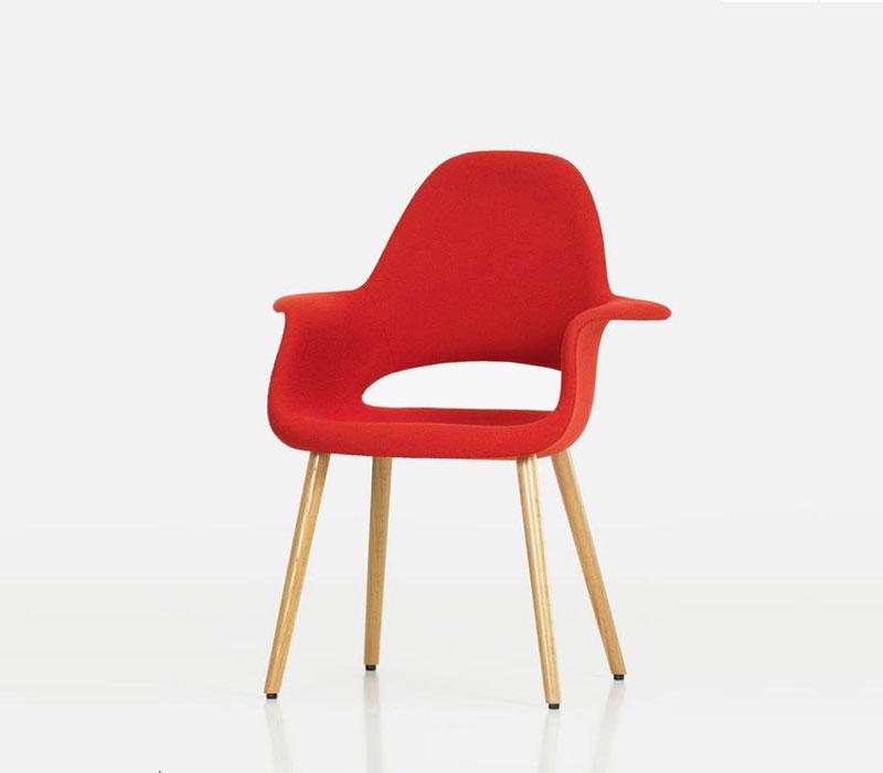 Organic Armchair, Sarinen & Eames (1940).