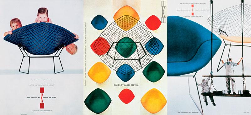 Sila Diamond, diseño de Harry Bertoia.