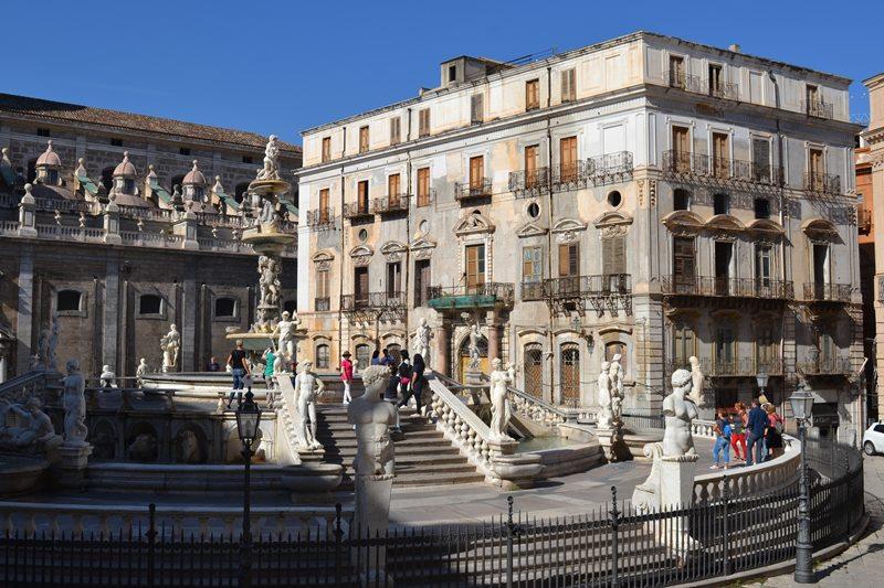 Piazza Pretoria (Palermo). © Fotografía SJLL.