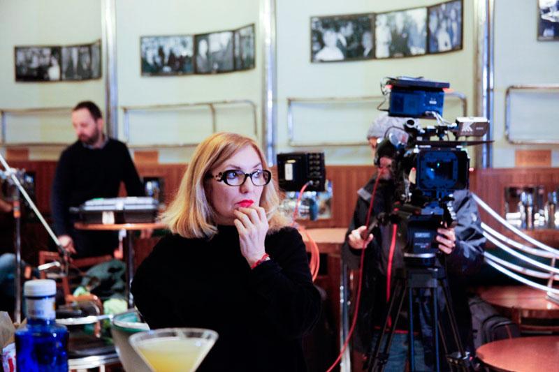 Eva Vizcarra, directora de El barman de las estrellas. Foto© Ana Ferrer Orts.