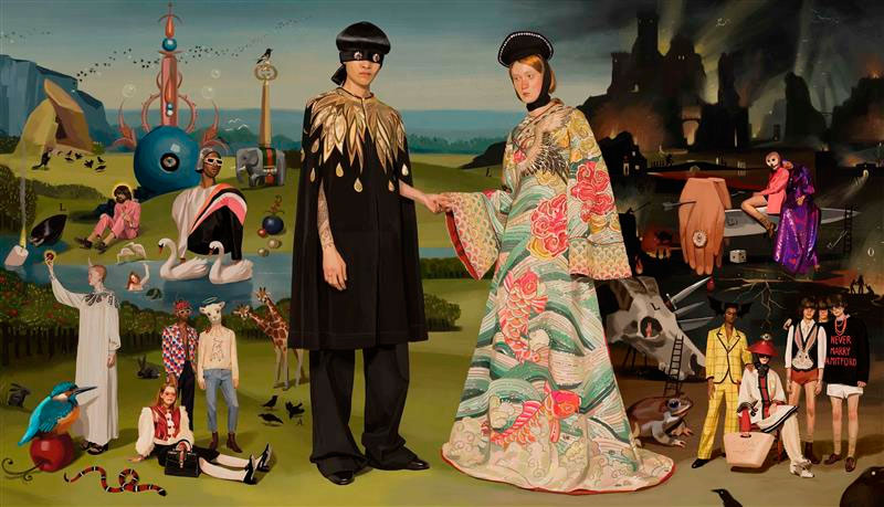 Gucci. Campaña Primavera/Verano. Ignasi Monreal. © Fotografía: Gucci.