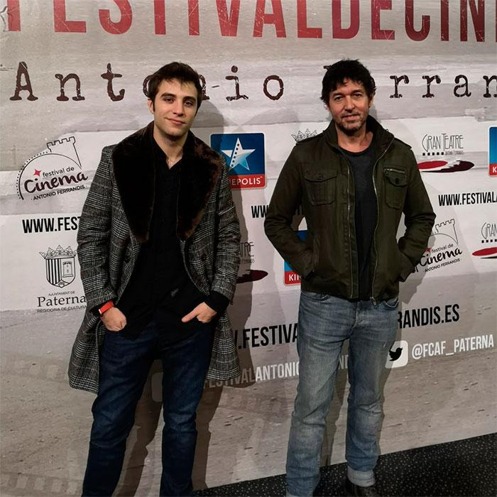 Miguel Ángel Vivas y Pol Monet. Foto © Iris Montoya.