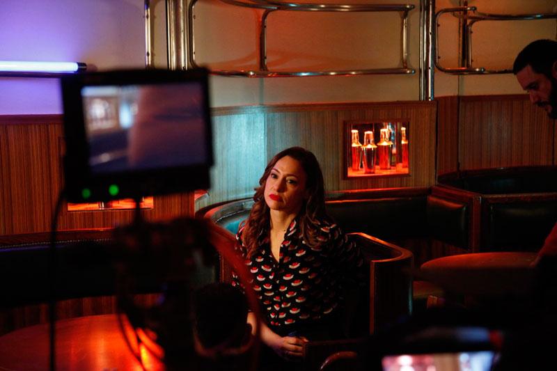 Natalia Verbeke en El barman de las estrellas.Foto© Ana Ferrer Orts.