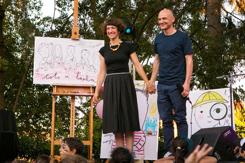 """Eva Armisén y Marc Parrot presentan su nuevo proyecto """"Tinc un Paper"""" en el MUV! Fest"""