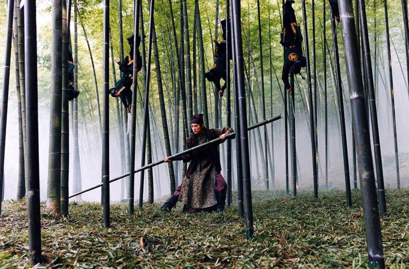 La casa de las dagas voladoras (Zhang Yimou, 2004).