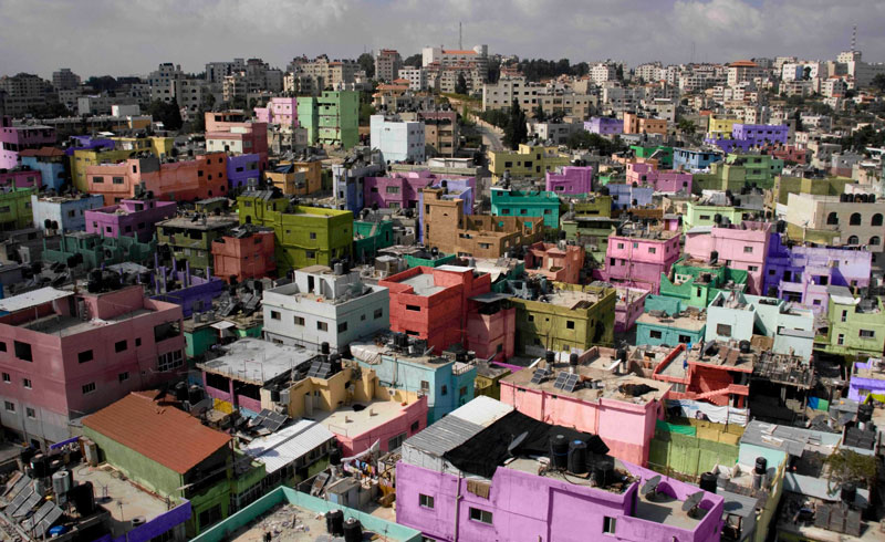 Yazan Khalili / Colour Correction. Camp Series, 2007-10. Cortesía del artista y Edge of Arabia, Londres.
