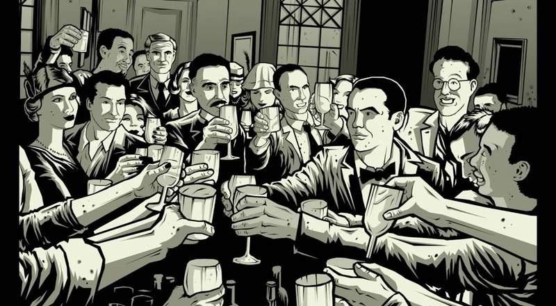 Imágenes extraídas del cómic Un Poeta en Nueva York de Carlos Esquembre.