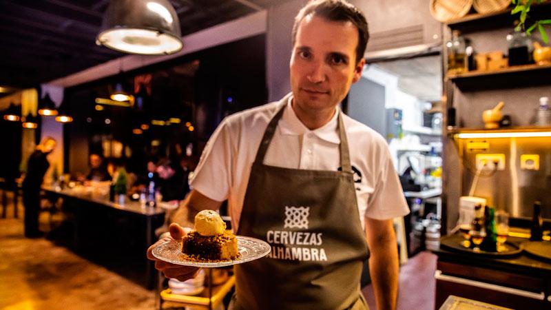 """Alfonso García, protagonista de """"Cocineros con futuro"""""""