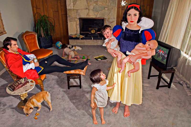 """""""Happily Ever After"""", Dina Goldstein."""
