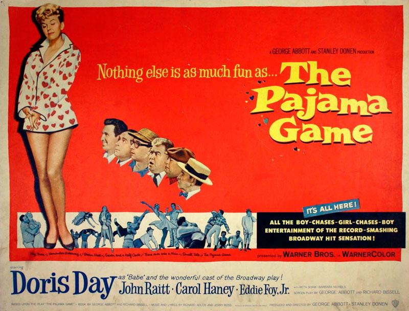 Juego de pijamas (Stanley Donen, 1957)