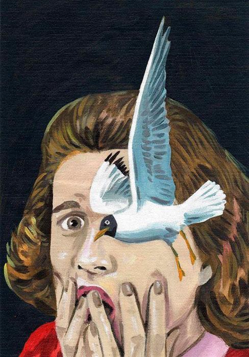 """""""Los pájaros de Du Maurier"""", Pablo Gallo"""