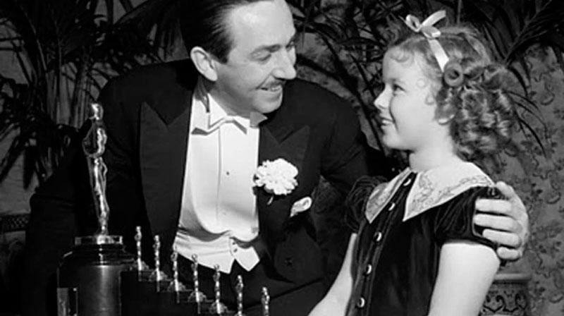 """Walt Disney. Oscar por """"Blancanieves y los siete enanitos"""""""