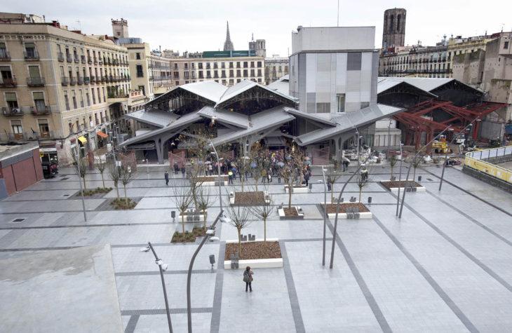 Mercado de la Boqueria en Barcelona. Estudio Carme Pinós. ©Fotografía Josep Losada