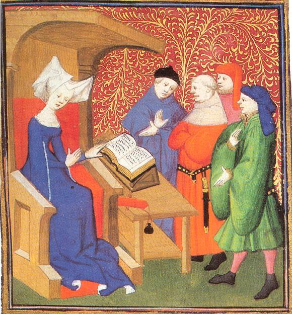 Feminismo. Christine de Pisan
