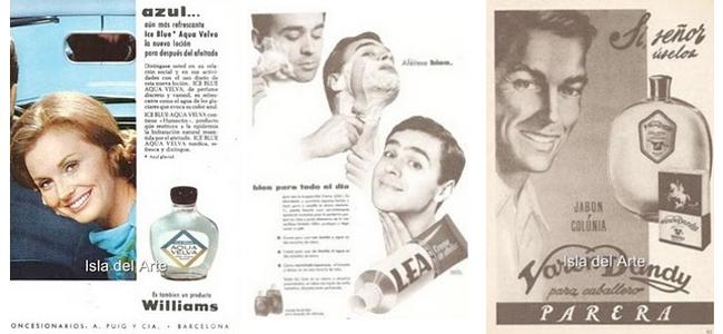 Publicidad de cosmética para hombres