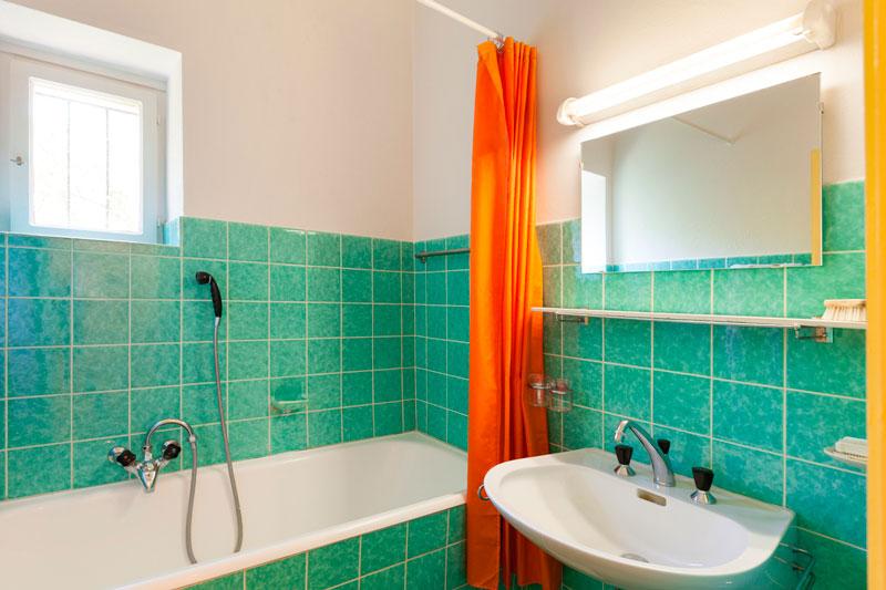 Cuarto de baño. Años 60