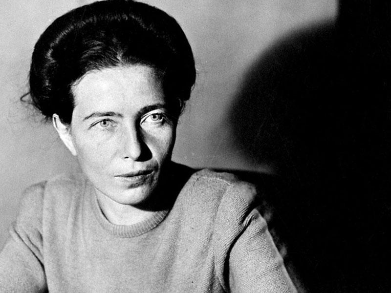 Feminismo. Simone de Beauvoir (1908-1986)