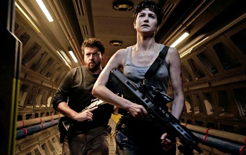 Alien: Covenant ( Ridley Scott, 2017).