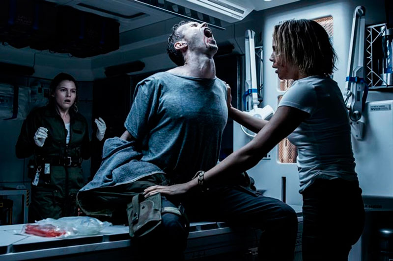 Alien: Covenant ( Ridley Scott, 2017).
