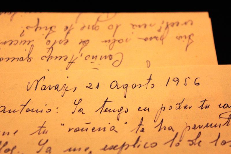 """""""Homenaje a una desconocida"""". Carmen Muñoz."""