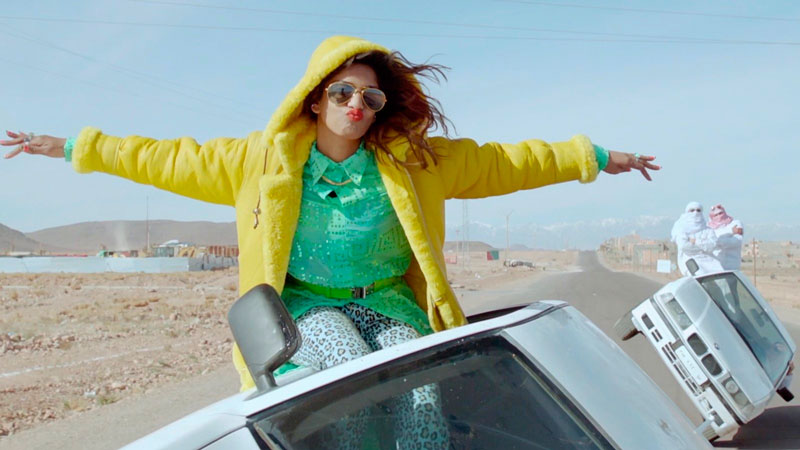 Frame del documental Matangi/Maya/M.I.A