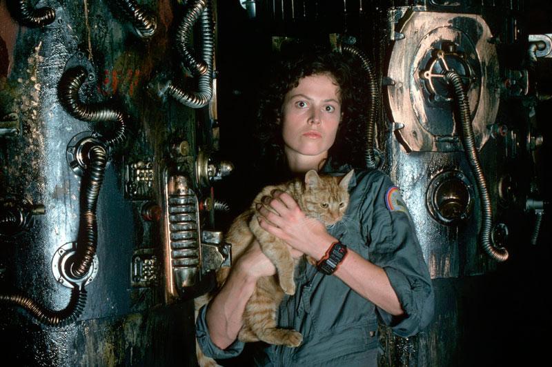 Sigourney Weaver. Alien, el octavo pasajero (Ridley Scott, 1979)