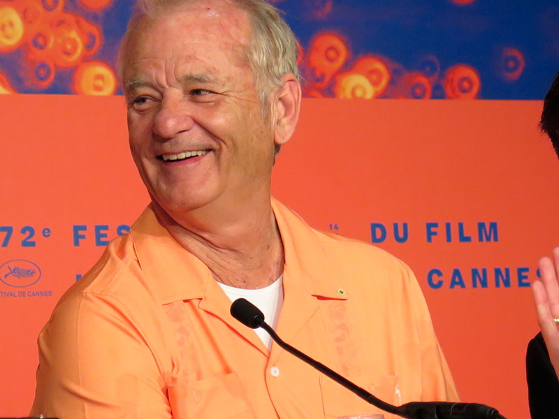Bill Murray en Cannes. Foto© Eva Peydró.
