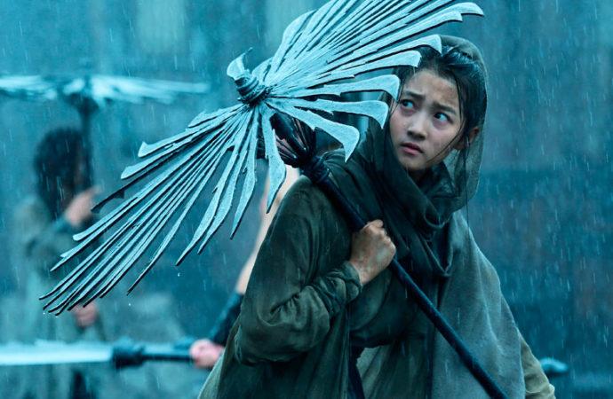 Sombra: Los paraguas asesinos de Zhang Yimou