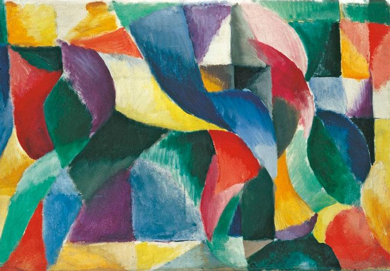 Vanguardia. Le Bal Bullier (Sonia Delaunay, 1913).