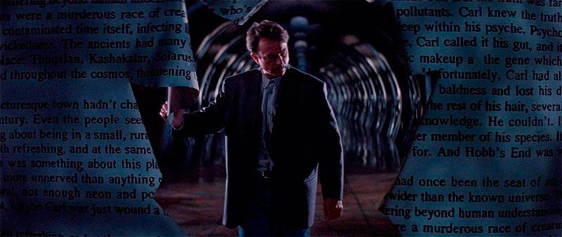 Sam Neill. En la boca del miedo (John Carpenter, 1994)