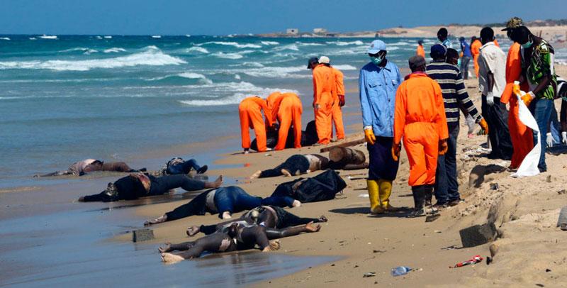 Miles y miles de ahogados en el Mediterráneo. Derechos humanos