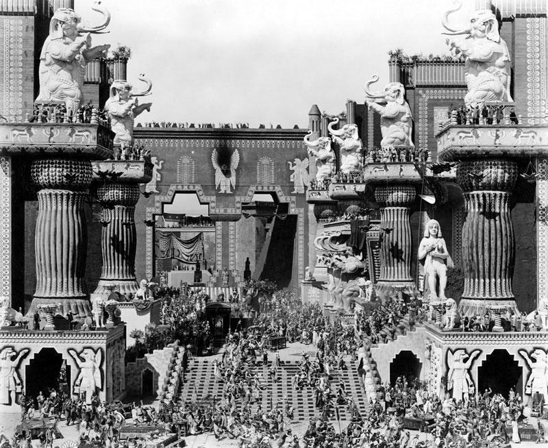 Historia. Intolerancia (D.W. Griffith, 1916).