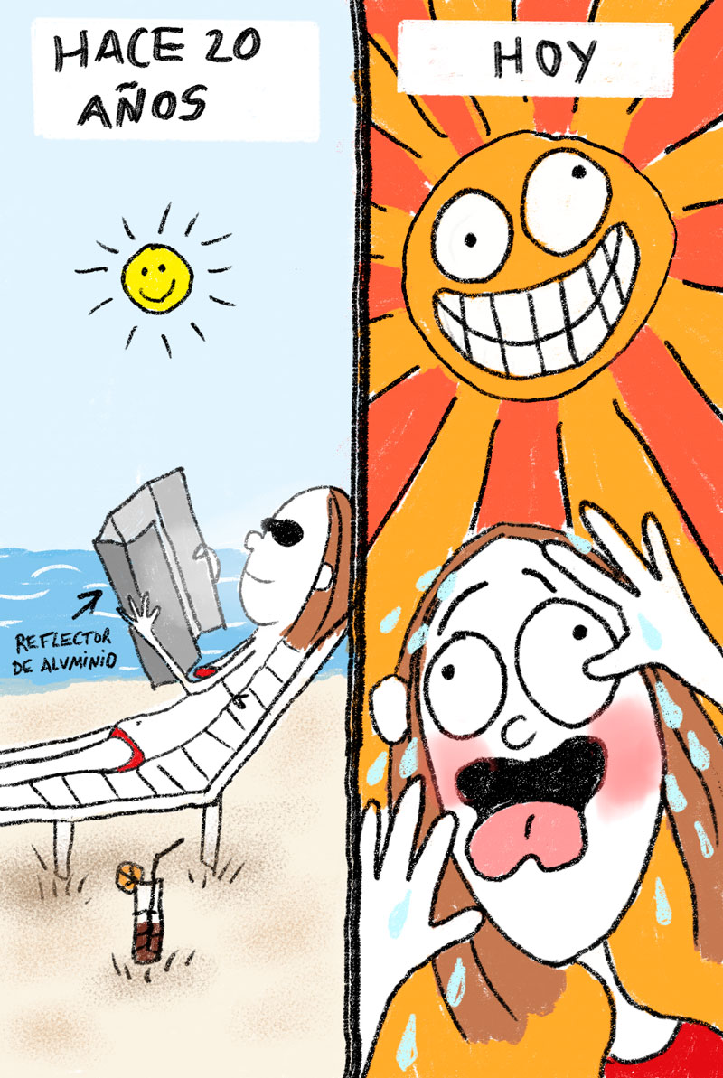 """Hot Sun"". Mujeres Perdidas, Sara Strobl"