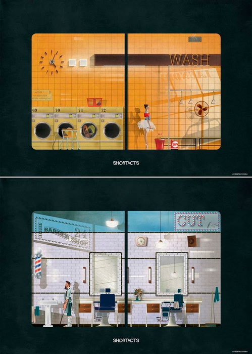 Shortacts: Laundry, Barber. © Federico Babina.