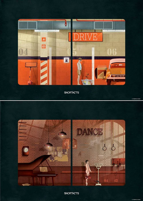Shortacts: Parking y Dance. © Federico Babina.