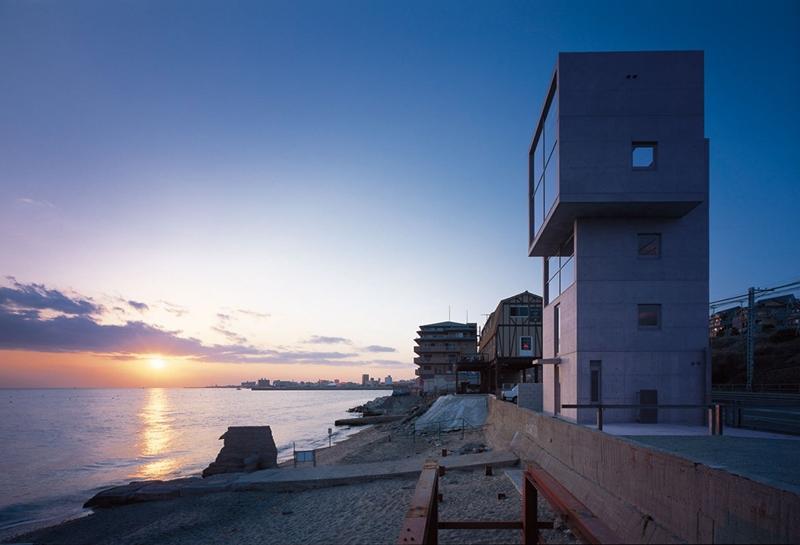Casas 4x4 en Kobe (Hyogo), arquitecto Tadao Ando. © Tadao Ando.