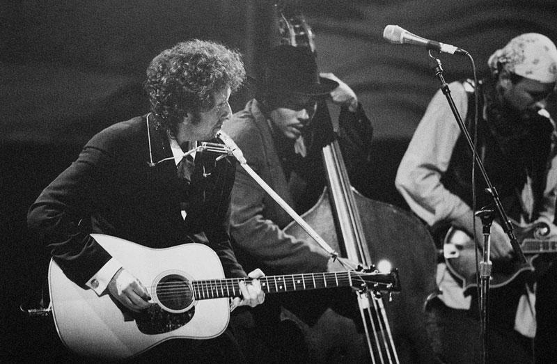 Bob Dylan. Woodstock 1994.