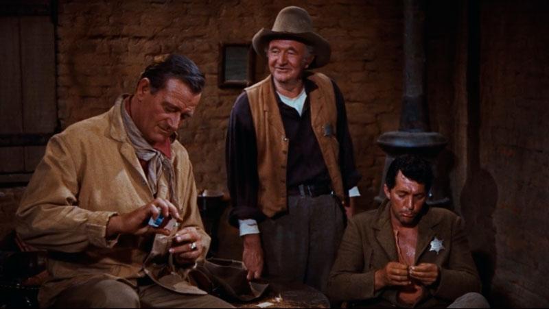 Río Bravo (Howard Hawks, 1959). Guiones