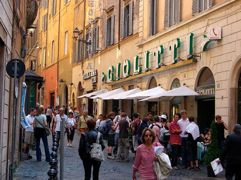 Heladería Giolitti. Roma