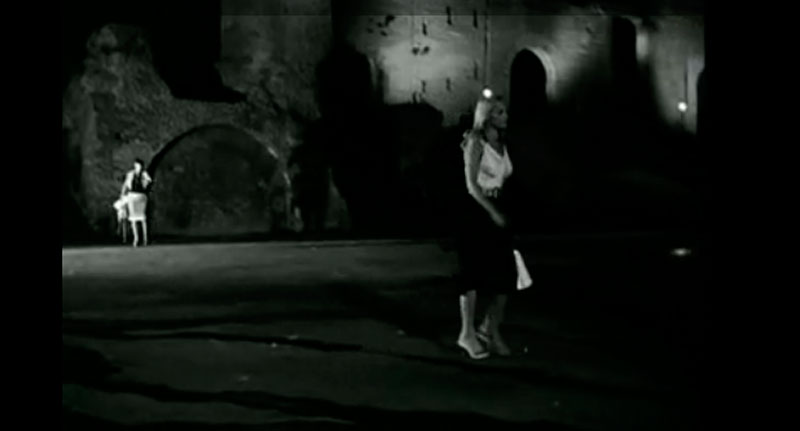 Las noches de Cabiria (Federico Fellini, 1957). Roma