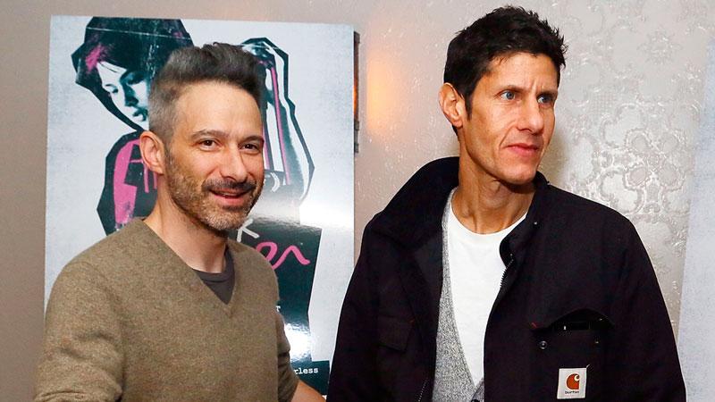 Adam Horovitz y Michael Diamond, autores del fastuoso libro sobre Beastie Boys (Foto Astrid Stawiarz/Getty Images). Libros musicales