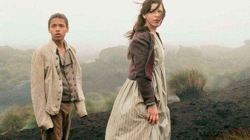 Cumbres borrascosas (Andrea Arnold, 2011). Charlotte Brontë