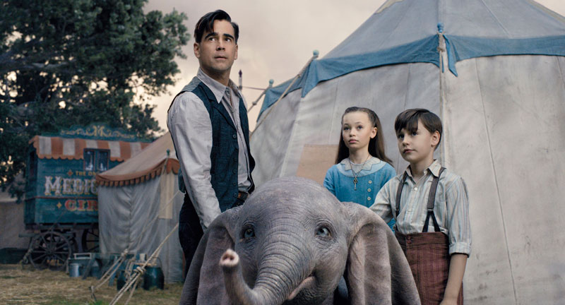 Dumbo (Tim Burton, 2019). Cine fantástico y de terror
