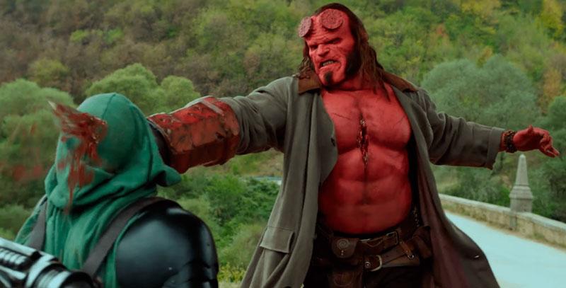 Hellboy (Neil Marshall, 2019). Cine fantástico y de terror