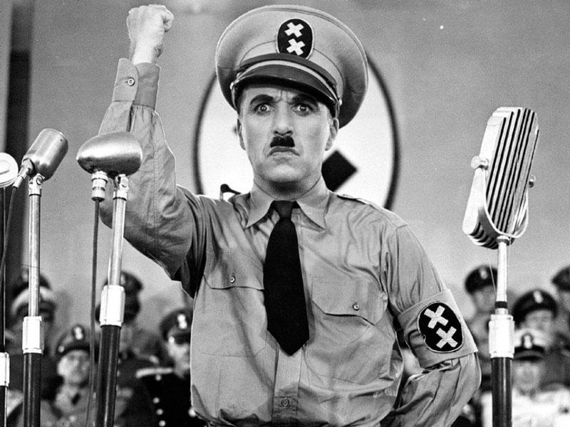 El gran dictador (Charles Chaplin, 1940). Jojo Rabbit