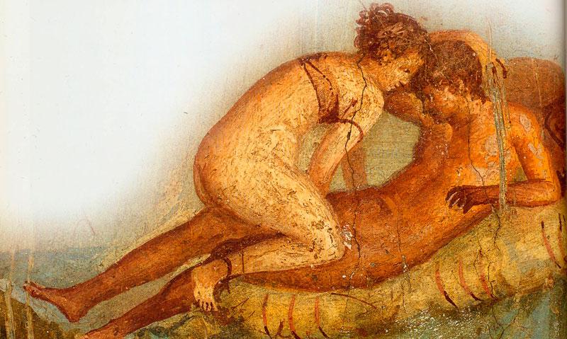 Pintura Romana. Sexo. Pompeya.